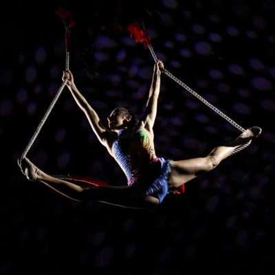 Piccolo Circo dei Sogni - Discipline Aeree - Figura al Trapezio